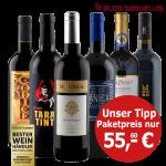 Weinpaket Spanien/Italien