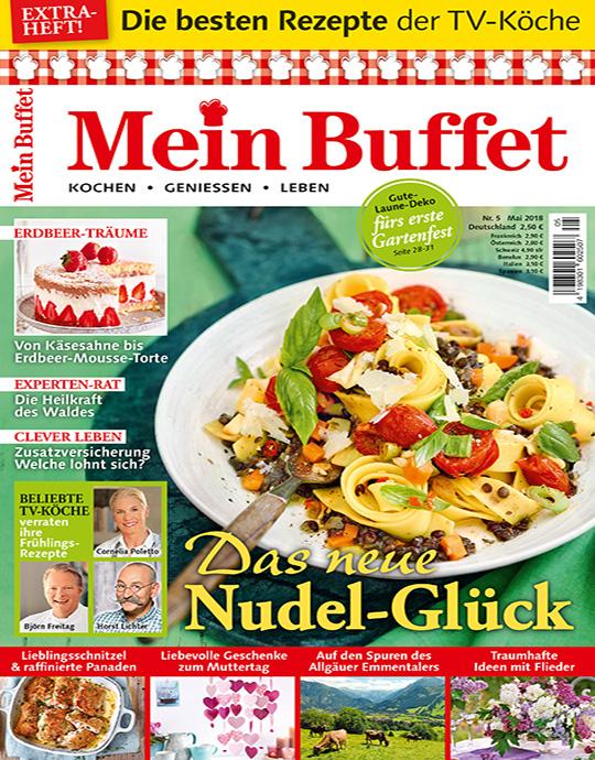 Abo Kochen Und Backen burda foodshop mein buffet
